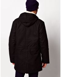 American Apparel - Black Winter Jacket for Men - Lyst