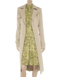 Chloé - Natural Double Breasted Trench Coat - Lyst