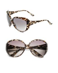 b16926854c Lyst - Dior Panther Print Sunglasses in Brown