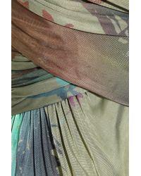 Matthew Williamson - Multicolor Toucan Satin Jersey Gown - Lyst