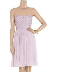 Rachel Gilbert - Purple Lucinda Strapless Dress - Lyst