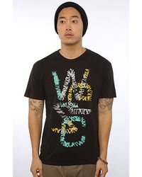 Wesc | Black The Stitch Overlay Tee  for Men | Lyst