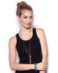 Lulu Frost - Althea Green Bracelet - Lyst