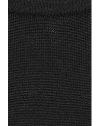 Farhi by Nicole Farhi Black Wool Sweater Dress