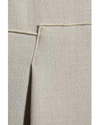 Roland Mouret - Gray Wool-crepe Dress - Lyst