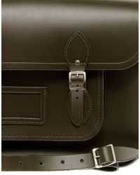 Cambridge Satchel Company Brown The 15 Leather Satchel for men