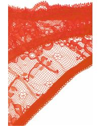 Deborah Marquit - Orange French Lace Soft-cup Bra - Lyst