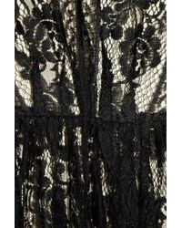 Lover - Black Wiccan Lace Mini Dress - Lyst
