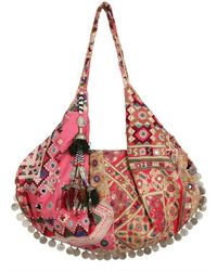 Simone Camille | Pink Moon Bag Patchwork Canvas Tote | Lyst