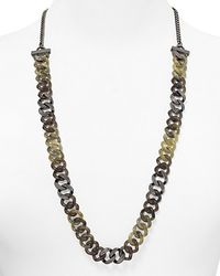 Marc By Marc Jacobs - Gray Long Candy Turnlock Necklace  - Lyst