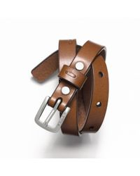 COACH | Brown Leather Bracelet for Men | Lyst