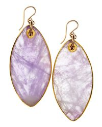 Devon Leigh | Purple Amethyst Drop Earrings | Lyst
