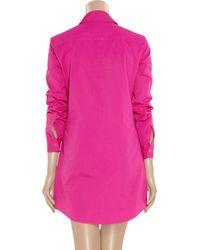 Michael Kors - Pink Cotton Tunic Dress - Lyst