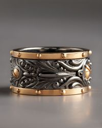 Stephen Webster | Metallic Wide Spinner Ring for Men | Lyst