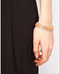 Swarovski - Pink Limited Edition Set Stone Bracelet with Stones - Lyst