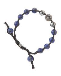 Tai - Blue Lapis Bead Bracelet - Lyst