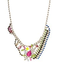 Marie Meili | Multicolor Asos Spring Stone Necklace | Lyst