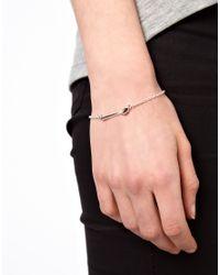 ASOS | Metallic Spoon Bracelet | Lyst