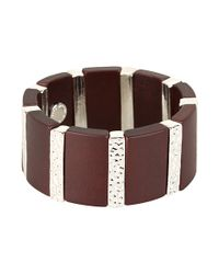 Marc By Marc Jacobs - Brown Stretch Bracelet - Lyst