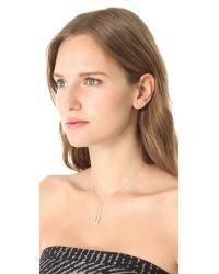 Tom Binns - Metallic Safety Pin Necklace - Lyst