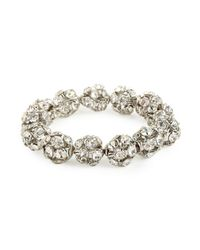 BaubleBar | Metallic Ice Discoball Bangle | Lyst