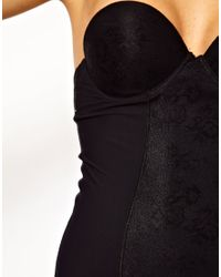 Ultimo | Black Miracle Backless Strapless Shaping Dress | Lyst