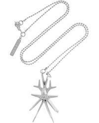 Eddie Borgo - Metallic Wasp Pendant Necklace - Lyst