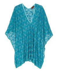 Missoni - Blue Zig Zag Sfumato Bikini Set - Lyst