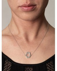 Stephen Webster - Metallic Diamond Gold Jaws Necklace - Lyst