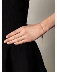 Carolina Bucci | Pink Yellow Gold Lucky Charm Bracelet | Lyst