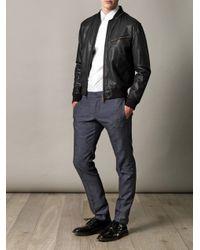 Gucci   Slub Denimblue Trousers for Men   Lyst