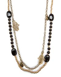 Mango | Black Necklace B Quiros C | Lyst