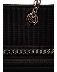Mango - Black Touch Quilted Chain Tote - Lyst