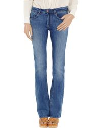 M.i.h Jeans - Blue Sugarland Midrise Bootcut Jeans - Lyst