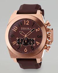 Brera Orologi Brown Militare Watch for men