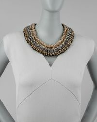 Nakamol | Metallic Beaded Choker Necklace Stylist Pick | Lyst