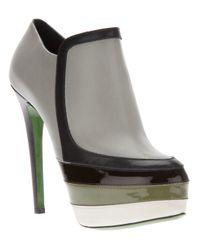Ruthie Davis | Gray Walden Shoe Boot | Lyst