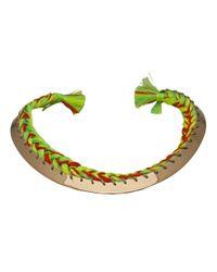 Aurelie Bidermann - Green 'copacabana' Necklace - Lyst