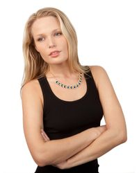 BaubleBar - Blue Gumdrop Necklace - Lyst