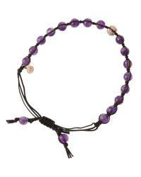 Tai | Purple Amethyst Bead Bracelet | Lyst