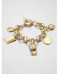 Marc By Marc Jacobs | Metallic Charm Bracelet | Lyst