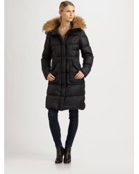 Parajumpers. Women's Black Michelle Furhood Coat