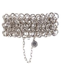 Stella McCartney | Metallic Chunky Chain Bracelet | Lyst