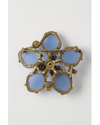 Gerard Yosca | Turquoise Bluebell Brooch | Lyst