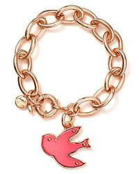 Marc By Marc Jacobs - Metallic Bird Charm Bracelet - Lyst