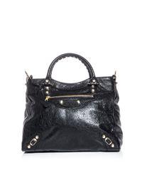 Balenciaga | Black Giant Velo Bag | Lyst
