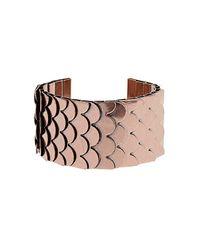 TOPSHOP | Metallic Metal Layer Cuff | Lyst