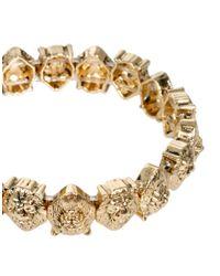 ASOS - Metallic Lion Stretch Bracelet - Lyst