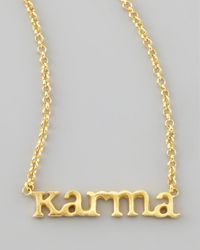 Dogeared | Metallic Karma Chain Necklace | Lyst
