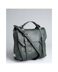 Kooba   Dark Forest Green Leather Jane Crossbody Bag   Lyst